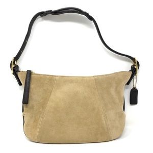 COACH Suede hobo purse, made in USA